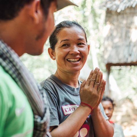 talent & pro bouwt mee met Habitat in Cambodja